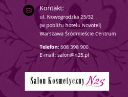 n25 salon kosmetyczny